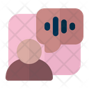 Voice Assistant Voice Control Technology Icon