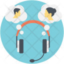 Voice Chat Online Icon