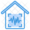 House Security Voice Control Icon