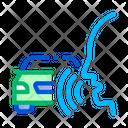 Voice Control Car Icon