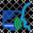 Voice Control Computer Icon
