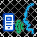 Voice Control Smartphone Icon