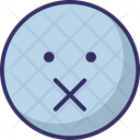 Voice Less Icon