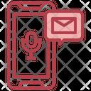 Voice Message Mobile Message Audio Message Icon