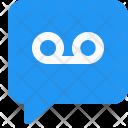 Voice Message Mobile Icon