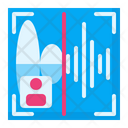 Voice Recognition Speech Recognition Biometric Voice Identification Icon