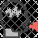 Voice Recognition Mobile Voice Icon