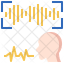 Voice Recognition Sound Waves Recognition Icon