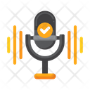 Voice Recognition Speech Recognition Voice Command Icon