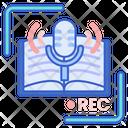 Voice Record Micro Phone Audio Icon