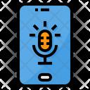 Microphone Smartphone Record Icon