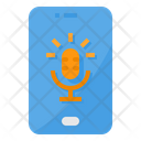 Microphone Smartphone Record Icon