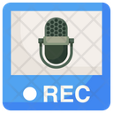 Voice Recorder Mic Recording Microphone Icon