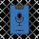 Recorder Voice Mobile Icon