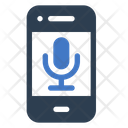 Mobile Phone Voice Icon Icon