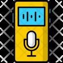Voice Recorder Microphones Radio Icon