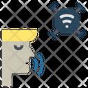 Voice Command Control Icon