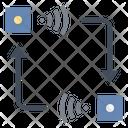 Transfer Sensor Data Icon