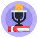 Audio Learning Voicebook Audiobook Icon