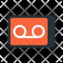 Voicemail Recording Audio Icon