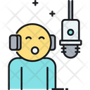 Voiceover Speech Icon