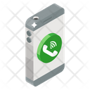 Voip Voice Over Ip Mobile Call Icon
