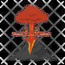 Volcanic Eruption Volcano Lava Icon