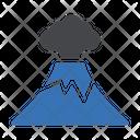 Lava Volacno Eruption Icon
