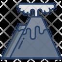 Volcano Lava Volcanic Icon