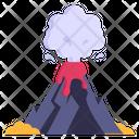 Eruption Volcano Smoke Eruption Icon
