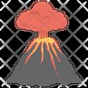 Volcano Volcano Eruption Magma Icon