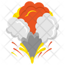 Volcano Volcano Explosion Natural Disaster Icon