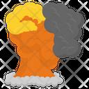 Volcano Explosion Icon