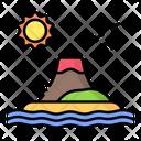 Volcano Island Icon
