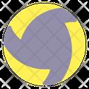 Volley Ball Ball Beach Icon