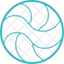 Volleyball Holiday Journey Icon