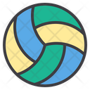 Volleyball Beach Volleyball Ball Icon