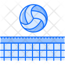 Volleyball Ball Grid Icon
