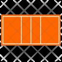 Volleyball Sport Field Icon