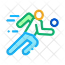 Player Volleyball Run Icon