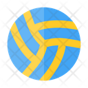 Volleyball Sport Tournament Icon