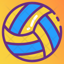 Playbill Volleyball Sports Ball Icon