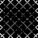 Volleyball Beach Net Icon