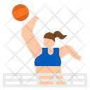 Volleyball Volleyball Player Equipment Icon