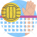 Sports Volleyball Ball Icon