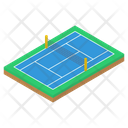 Volleyball Field Icon