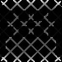 Goal Net Volleyball Net Tennis Net Icon