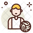 Volleyball Player Volleyball Player Icon