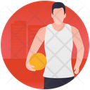 Volleyball Playing Icon