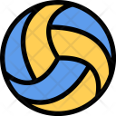 Volleyball Sports Equipment Icon